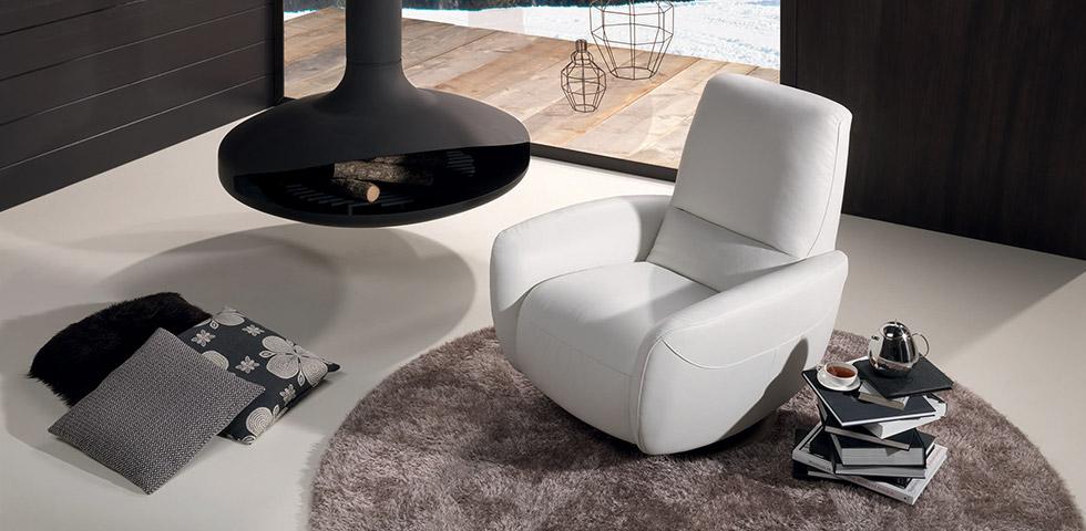 Poltrone relax reclinabili | Divani&Divani