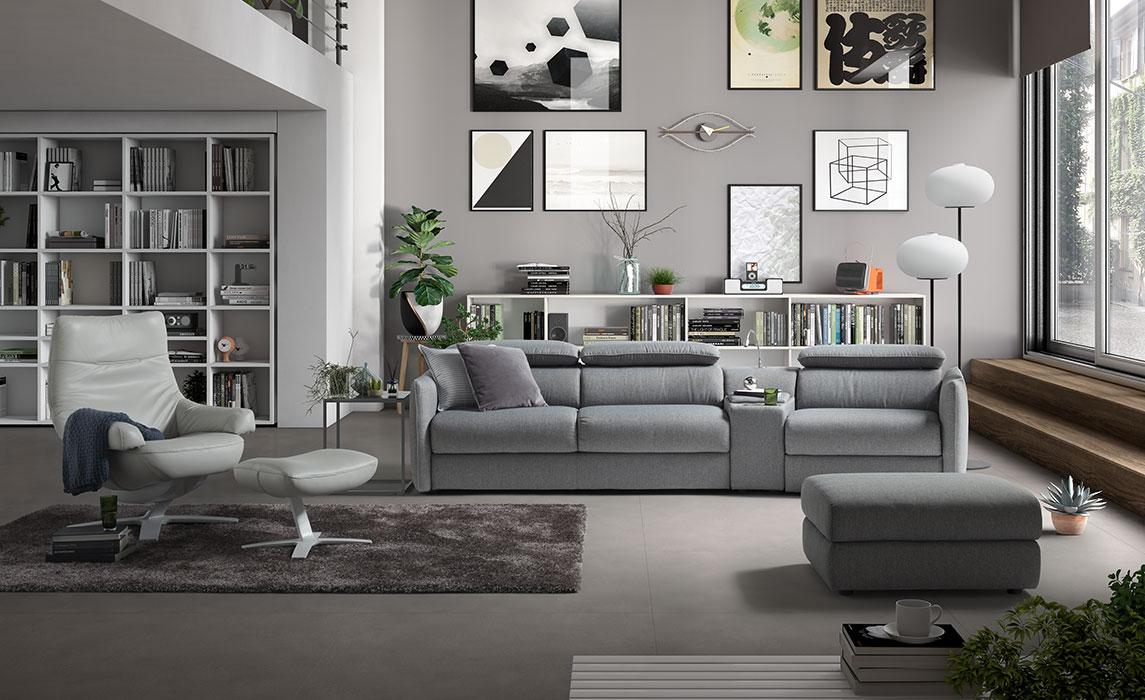 Divani Con Meccanismo Relax meraviglia | divani&divani