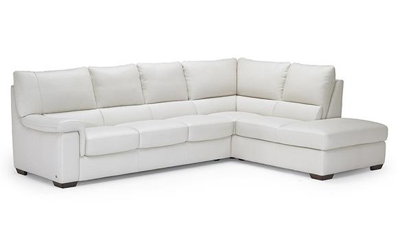 Divani In Pelle E Tessuto : Divani moderni offerta e vendita divano moderno oxford su misura