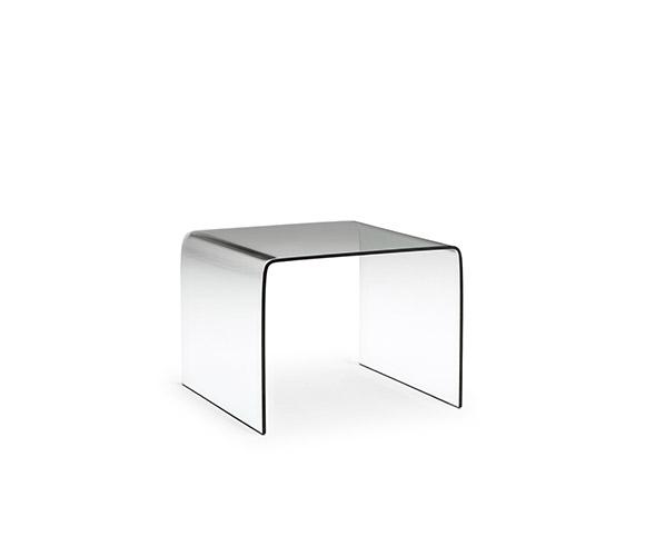 Tavolino Cristallo Natuzzi.Mercurio Divani Divani