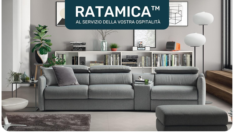 Ratamica | Divani&Divani by Natuzzi