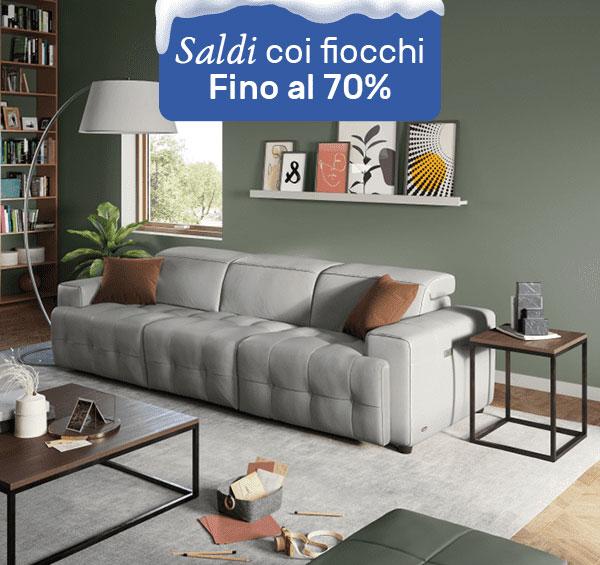 Saldi coi fiocchi | Divani&Divani by Natuzzi